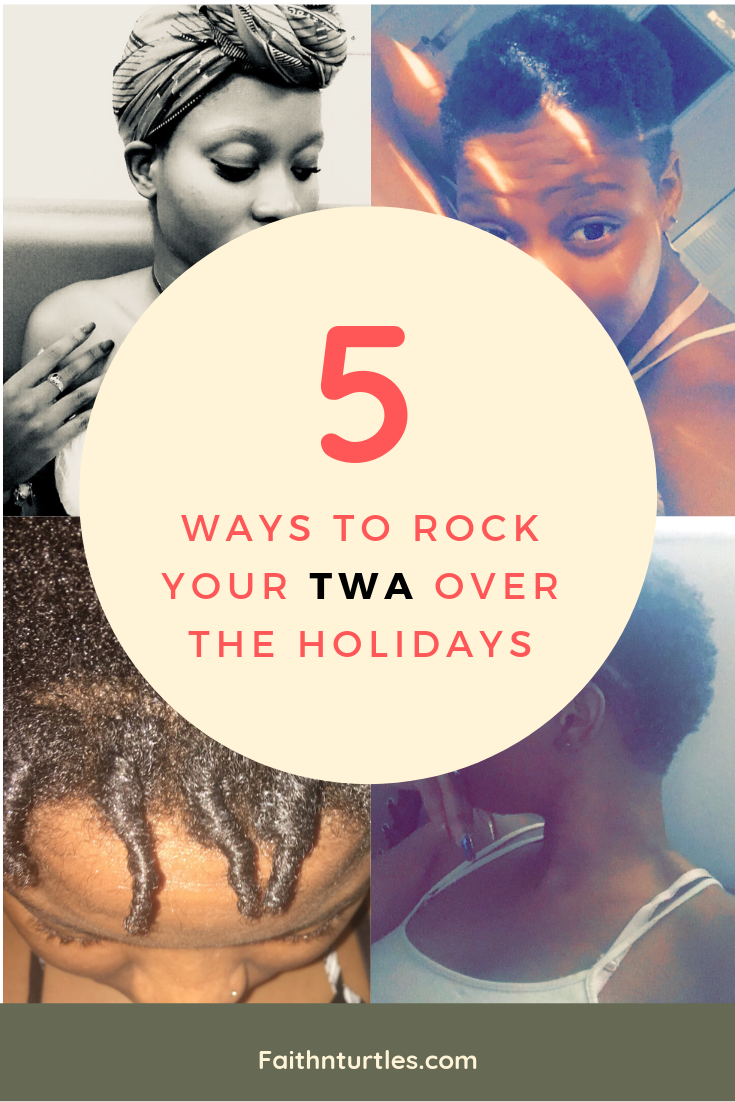 5 Ways to Rock your TWA over the Holidays