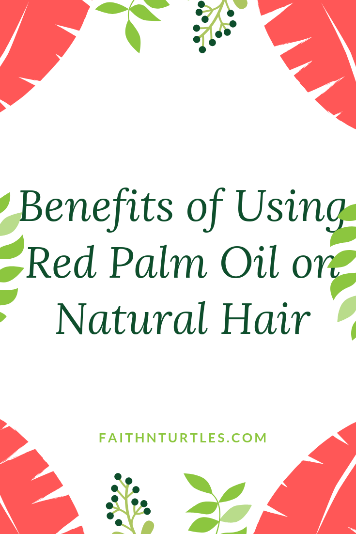 Benefits of Red Palm Oil Hot Oil Treatment for Natural Hair