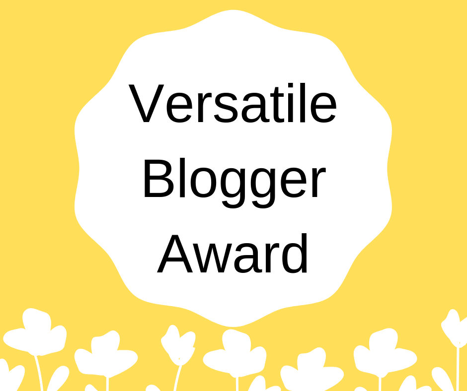 7 Things About Me: Versatile Blogger Award