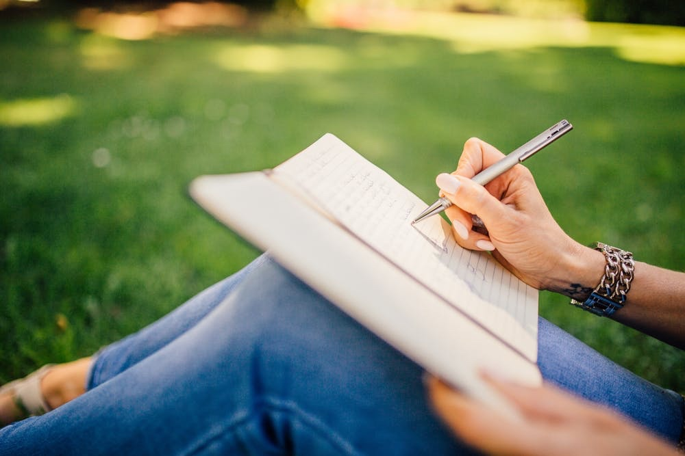 10 Journal Prompts for  Anxiety caused by COVID-19.
