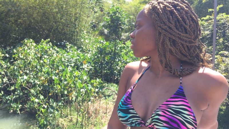 5 Protective Styles Over Locs that anyone can do.
