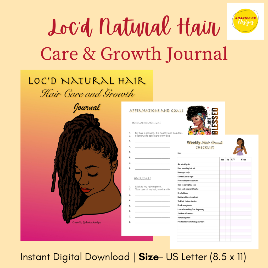 Dreadlocks Hair Journal